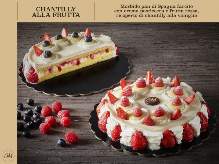 chantilly alla frutta